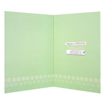 Hallmark Forever Friends Christmas Card 'For Uncle' - Medium