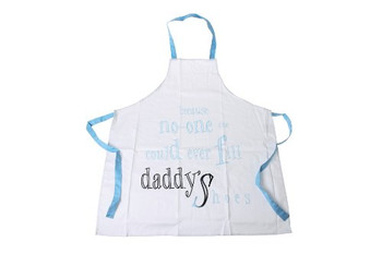 Me to You Daddy Apron Printed with Because No One Could Ever Fill Daddy's Shoes