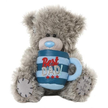 """7"""" Me to You Bear With Best Dad Plush Mug"""