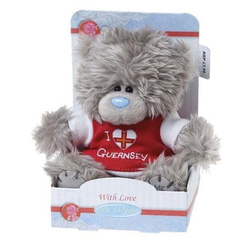 "5"" I Love Guernsey T-Shirt Me to You Bear"