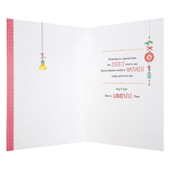 Hallmark Christmas Card 'Festive Celebrations'- MediumHallmark Christmas Card 'Festive Celebrations' Medium