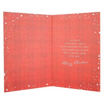 Hallmark Nephew Christmas Card 'Sleigh Bells Jingle' Medium