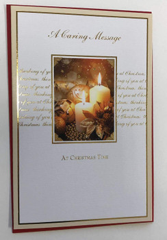A Caring Message Christmas Card