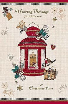A Caring Message Christmas Time  Card