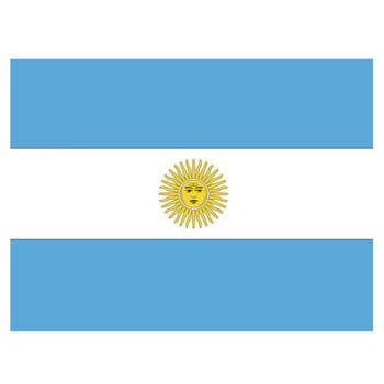 Argentina Flag 5ft X 3ft