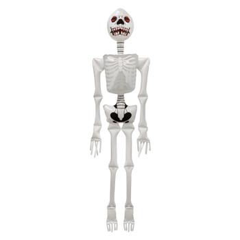 Halloween Spooky Horror Skeleton Inflatable Decoration White 183cm