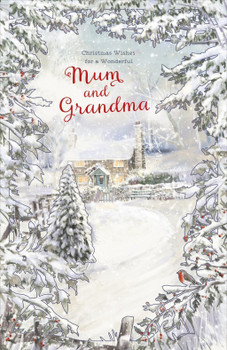 2D Card For A Wonderful Mum And Grandma Both Of You Nice Greeting Christmas Card