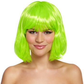 Hair Wig Mid Green 120g