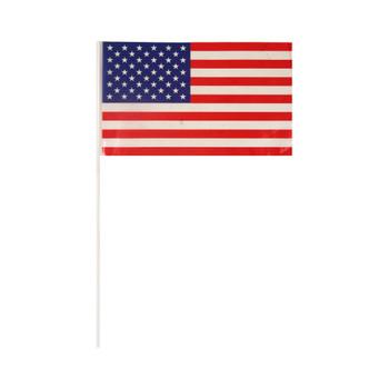 USA Hand Flag with 40cm Stick