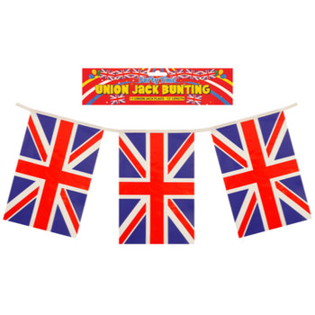 Union Jack Great Britain Flags Bunting 12 Feet