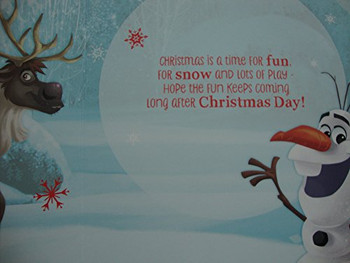 Happy Christmas Frozen Special Boy Christmas Card