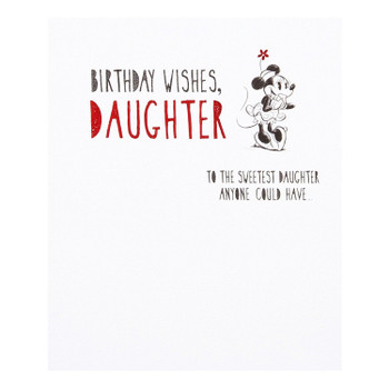 Hallmark Disney Minnie Engagement Congratulation Card Love Happens Small