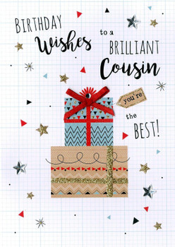 Cousin Birthday Greeting Card Second Nature Just To Say Cards