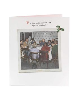 Funny Vintage Humour Christmas Card