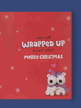 All Wrapped Up One I Love Christmas Card