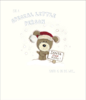 Lots Of Woof For A Special Little Person Christmas Card