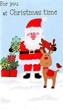 Santa & Reindeer' 'Xmas Money Wallets at Christmas