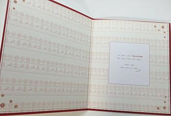 Boofle Nannie Christmas Card