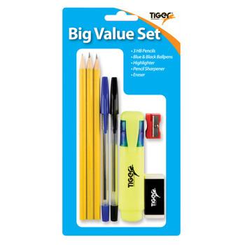Big Value Set 8 Pieces Stationery Set