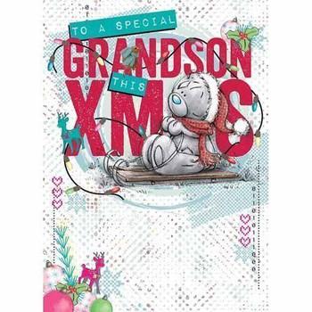 Me to You Grandson Christmas Card