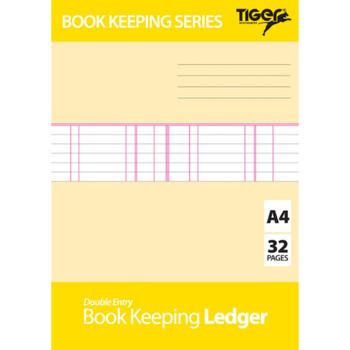 A4 Book Keeping Ledger Book