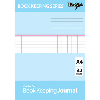 A4 Book Keeping Journal Book