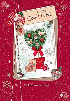 For One I Love Christmas Card