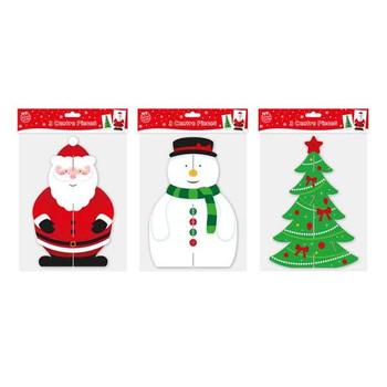 25cm Christmas Table Decoration Festive Centre Piece Santa Snowman Tree xmas