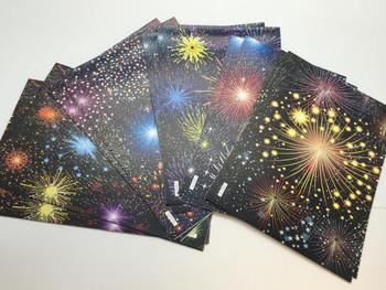 10 Sheet of Mix Designer Luxury Soft touch Foiled Christmas Gift wrap Celebration