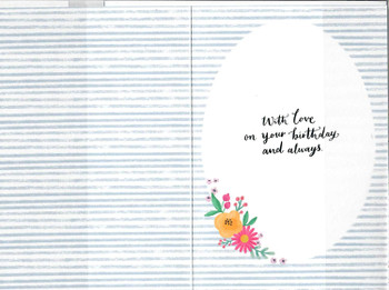 A Godmother Brings Happiness Birthday Card