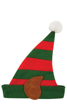 10 x Children Elf Hat with Ears Christmas Fancy Dress Costume Prop