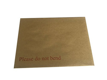 Box of 125 B5 Board Back Envelopes (241 x 178mm)