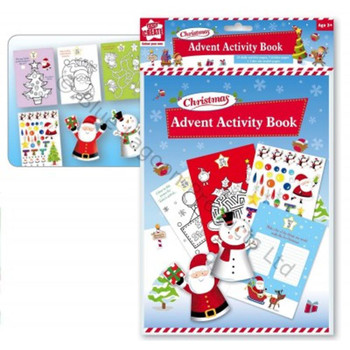Christmas Advent Activity Book