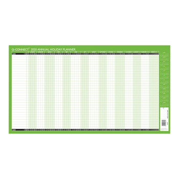 2020 Q Connect Unmounted Holiday Planner 754 x 410mm