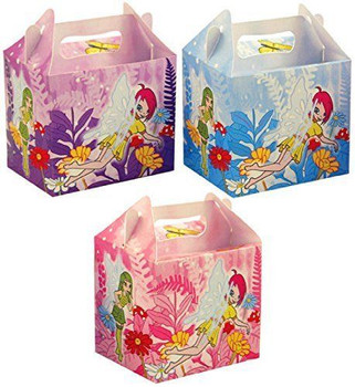 Pack of 6 Fairy Lunch Boxes