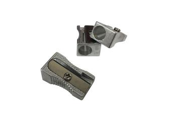 Pack of 20 Single Hole Metal Pencil Sharpener
