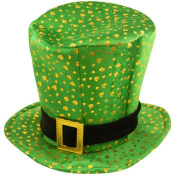 Irish Topper Leprechaun Hat with Buckle - St Patrick's Day