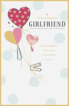 Gorgeous Girlfriend Valentine's Day Card