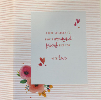 For My Lovely Friend Valentine's Day Card