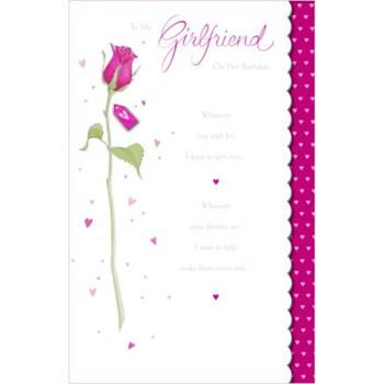 Girlfriend Birthday , Birhtday Greetings Card
