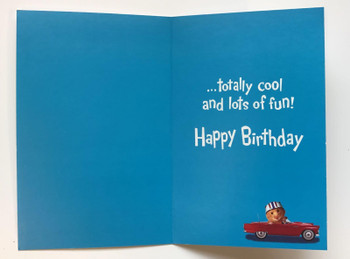 HI, UNCLE! Happy Birthday Just Like You Cute New Greeting Card