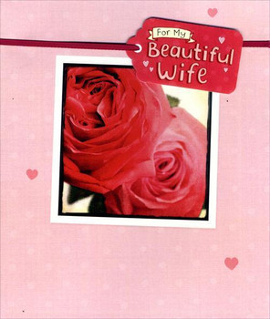 """""""For My Beautiful Wife"""" Card  Valentines Day"""