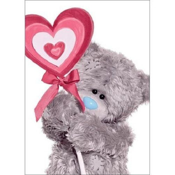 3D Holographic Lollypop Me to You Bear Valentines Day Card