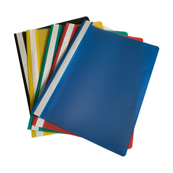 Pack of 12 Red A4 Project Folders by Janrax