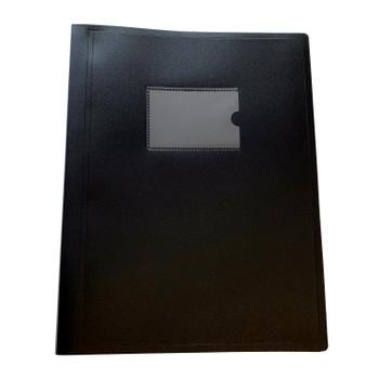 A4 Black Flexible Cover 150 Pocket Display Book