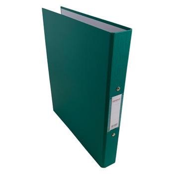 A4 Green Paper Over Board Ring Binder by Janrax
