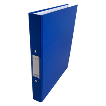 A4 Blue Paper Over Board Ring Binder by Janrax