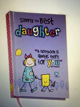 Simply The Best Daughter A7 Notebook