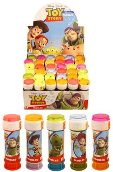 Pack of 6 Toy Story Assorted Bubble Tubs 60 ml
