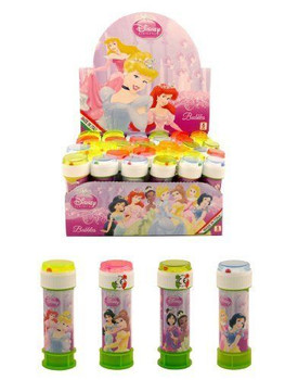 Pack of 6 Assorted Disney princess Bubble Tubs 60 ml